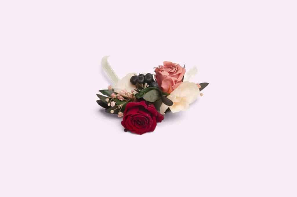 Un bracelet de rose