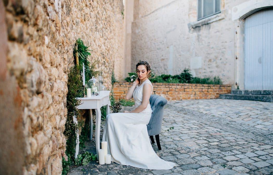 Le shooting de mariage